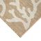 """Liora Manne Carmel Coral Border Indoor/Outdoor Rug Sand 7'10"""" RD"""