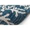 "Liora Manne Carmel Coral Border Indoor/Outdoor Rug Navy 23""X7'6"""