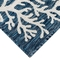 "Liora Manne Carmel Coral Border Indoor/Outdoor Rug Navy 4'10""X7'6"""