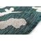 """Liora Manne Carmel Coral Border Indoor/Outdoor Rug Teal 8'10""""X11'9"""""""