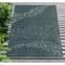 """Liora Manne Carmel School Of Fish Indoor/Outdoor Rug Teal 39""""X59"""""""