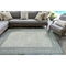 "Liora Manne Carmel Ancient Border Indoor/Outdoor Rug Aqua 39""X59"""