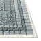 "Liora Manne Carmel Ancient Border Indoor/Outdoor Rug Navy 23""X7'6"""