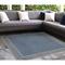 "Liora Manne Carmel Ancient Border Indoor/Outdoor Rug Navy 7'10"" SQ"