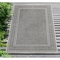 "Liora Manne Carmel Ancient Border Indoor/Outdoor Rug Grey 39""X59"""