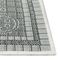 "Liora Manne Carmel Ancient Border Indoor/Outdoor Rug Grey 7'10""X9'10"""
