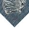 "Liora Manne Carmel Seashell Border Indoor/Outdoor Rug Navy 7'10""X9'10"""