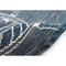 "Liora Manne Carmel Shipwheels Indoor/Outdoor Rug Navy 39""X59"""