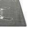 "Liora Manne Carmel Shipwheels Indoor/Outdoor Rug Grey 6'6""X9'4"""