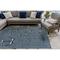 "Liora Manne Carmel Anchors Indoor/Outdoor Rug Navy 4'10""X7'6"""