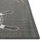 "Liora Manne Carmel Anchors Indoor/Outdoor Rug Grey 7'10"" SQ"