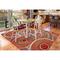 """Liora Manne Marina Circles Indoor/Outdoor Rug Saffron 6'6""""X9'4"""""""