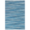 "Liora Manne Marina Stripes Indoor/Outdoor Rug China Blue 6'6""X9'4"""