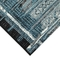 """Liora Manne Marina Tribal Stripe Indoor/Outdoor Rug Denim 8'10""""X11'9"""""""