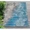 """Liora Manne Marina Surf Indoor/Outdoor Rug Ocean 7'10""""X9'10"""""""