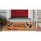 """Liora Manne Natura Please Remove Your Shoes Outdoor Mat Natural 24""""X36"""""""