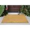 """Liora Manne Natura Solid Outdoor Mat Natural 18""""X30"""""""