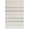 """Liora Manne Plymouth Modern Stripe Indoor/Outdoor Rug Silver 4'10""""X7'6"""""""
