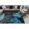 """Liora Manne Ravella School Of Fish Indoor/Outdoor Rug Navy 42""""X66"""""""