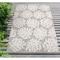 "Liora Manne Rialto Coral Indoor/Outdoor Rug Ivory 4'10""X7'6"""
