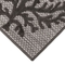 """Liora Manne Rialto Coral Indoor/Outdoor Rug Charcoal 39""""X59"""""""