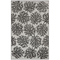 """Liora Manne Rialto Coral Indoor/Outdoor Rug Charcoal 7'10""""X9'10"""""""