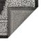 """Liora Manne Rialto Kermin Indoor/Outdoor Rug Grey 4'10""""X7'6"""""""