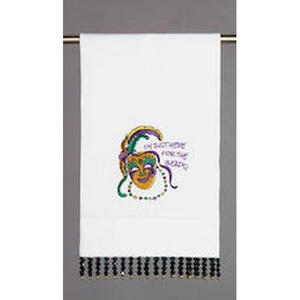 I'M Just Here For The Beads Guest Towel