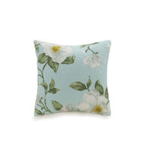 Blooming Magnolia Quilted Pillow Blown Fill