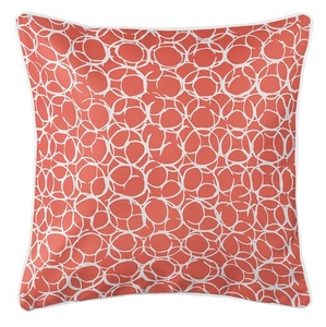 Bora Bora Coral Coastal Pillow