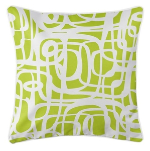 Tahiti Lime Coastal Pillow