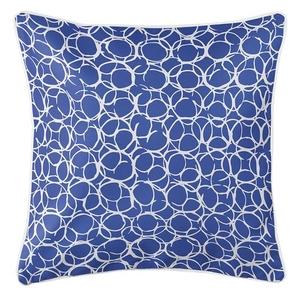 Bora Bora Cobalt Coastal Pillow