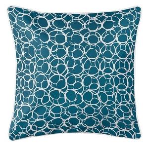 Bora Bora Teal Coastal Pillow