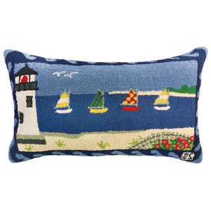 Beacon Lighthouse Pillow