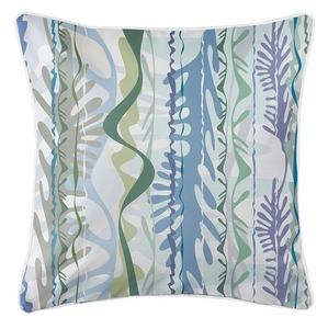 Seaweed Drift Coastal Pillow