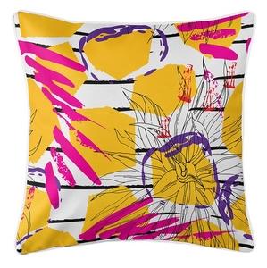 Gypsy Girl Coastal Pillow