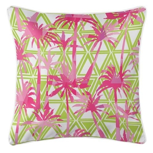 Palm Resort Coastal Pillow