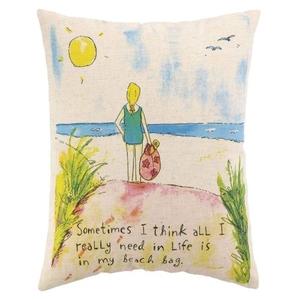 Beach Bag Pillow 14X18 in.