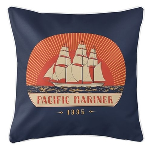 Pacific Mariner Coastal Pillow