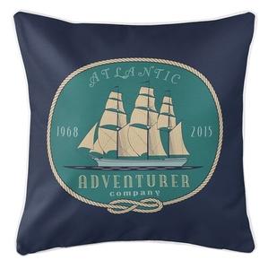 Atlantic Adventurer Coastal Pillow