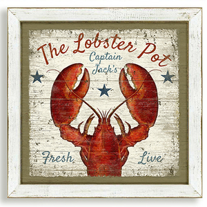 The Lobster Pot Tavern Framed Art