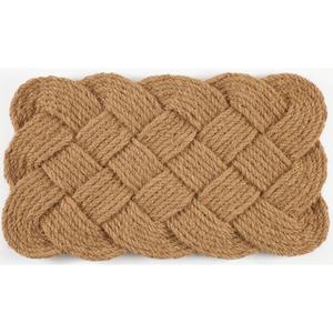Knot-Ical Hand Woven Coconut Fiber Doormat