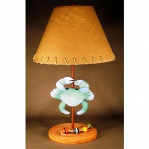 Blue Crab Lamp