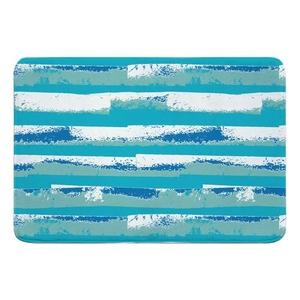 Ocean Currents Memory Foam Bath Mat