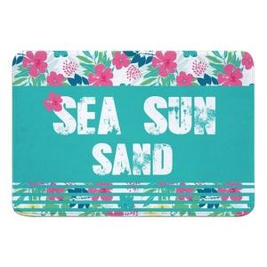 Sea Sun Sand Memory Foam Bath Mat