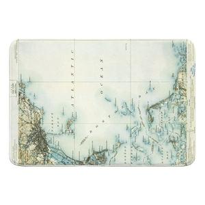 Boston Bay, MA (1903) Map Memory Foam Bath Mat
