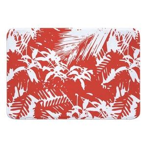 Walker's Cay Island Getaway Red Memory Foam Bath Mat