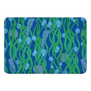 Green Seaweed Memory Foam Bath Mat