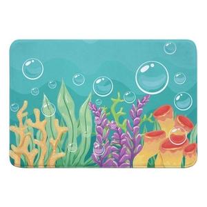 Sea Bed Memory Foam Bath Mat
