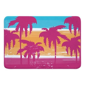 Palm Trees Memory Foam Bath Mat